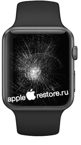 Замена стекла apple watch