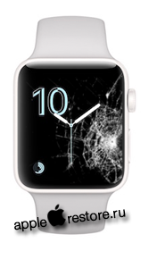 Замена стекла Apple Watch 2